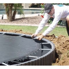 Bring the World's Only Complete In-Ground Trampoline System into Your Backyard