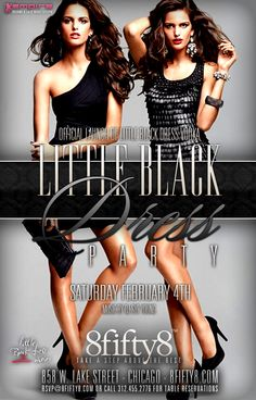 """""""Little Black Dress Party"""" - Official Little Black Dress Vodka Launch Party by Empire Chicago Nightlife"""