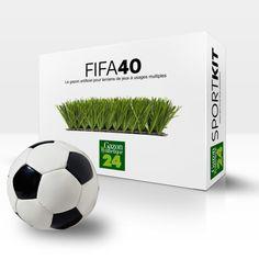 Gazon Synthétique Soccer Cinq FiFa 40
