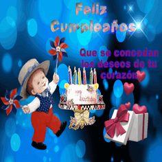 ESTUDIANDO  Creciendo  y Tu ¿?: # Hoy Mi nieto cumple  9 Años  Isidro vidamia.Feli... Happy Birthday Notes, Happy Birthday Images, Happy Birthday Wishes, Birthday Greetings, Crochet Parrot, Birthday Candles, Birthday Cake, Lets Celebrate, Birthdays