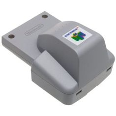 Nintendo 64 Rumble Pak Vibrating accessory responds to game stimulus. Model# Different intensities for different game situations Easy to switch off if desired Batteries not included. Only for use with compatible titles Nintendo 64, Original Nintendo, Nintendo Games, Star Fox 64, Some Games, Different Games, Game Logo, Game Controller, Movie Collection