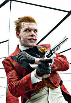 Gotham, Jerome Valeska, The newest Joker Gotham City, Jerome Gotham, Gotham Joker, Joker Art, Joker And Harley, Gotham Villains, Harley Quinn, Batman Arkham, Batman Art