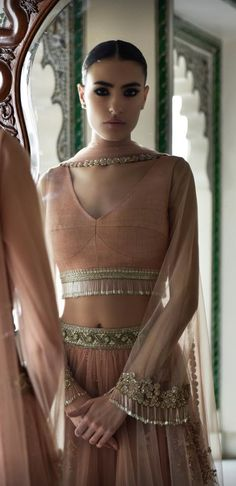 86 best Sabyasachi Suits photos by Indian Fashion Trends, India Fashion, Asian Fashion, Indian Attire, Indian Ethnic Wear, Indian Dresses, Indian Outfits, Look Short, Indian Lehenga