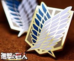 I have watched several episodes of Attack on Titan and it's very inspiring. I'm becoming a fan of it. When I see this Scouting Legion emblem badge for sale on some online stores, I'd like to have one to pin on my backpack. Anyone know fanraro.com, they've got a full set of the badges.