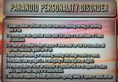 #Stalking #harassment #invasionofprivacy #obsession= Paranoid Personality Disorder.
