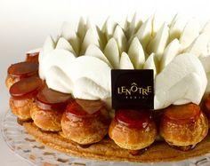 gateau saint honore we dare st honore cake via gateau st honore gateau ...