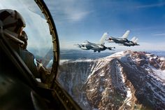 F-16 falcon with a view that will leave you breathless. Photo by: Tyler Stableford