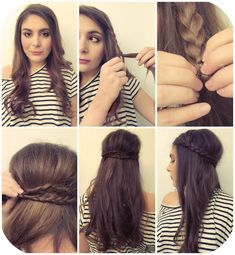 FLOWERS IN EMILYS HAIR: 3 QUICK&EASY HAIRSTYLES WHEN YOURE RUNNIN' LATE!