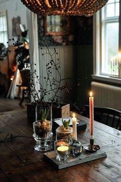 Cosy Christmas, Christmas Feeling, Decoration Christmas, Christmas Trends, Decoration Table, Scandinavian Christmas, Christmas Inspiration, Christmas And New Year, Holiday Decor