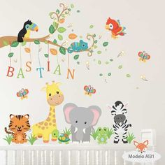 Baby Boy Room Decor, Baby Room Design, Baby Bedroom, Baby Boy Rooms, Kids Bedroom, Baby Wall Decals, Nursery Wall Murals, Kids Wall Murals, Baby Room Paintings