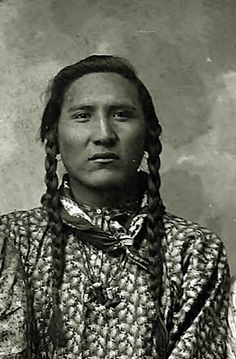 Cross Otter, a Crow brave, montana 1899