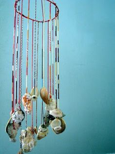 Things to do with all those shells you get from the numerous beach trips