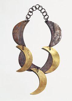 Dorothea Pruhl- Moon, titanium, gold. 2003