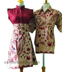 batik sarimbit modern terbaru