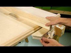 Guía deslizante para sierra de mesa y tupí. Double sliding router table and table saw fence. - YouTube