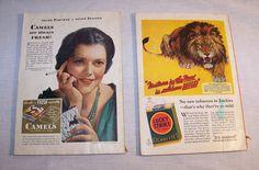 Cigarette Advertising Camel Lucky Strike 2 Issues The Golden Book Magazine 1932  #LuckyStrikeCamelCigarettes #ebay #GotPicks