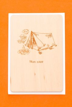 Gift your dad this fun man cave greeting card for Father's Day. It will definitely make his day!