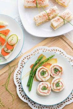 pinwheels with lemon chive cream cheese are the perfect tea sandwiches ...