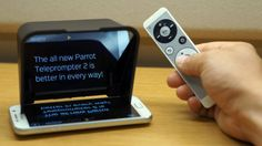 Turn your phone into a teleprompter with the new Parrot Teleprompter 2