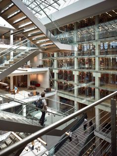 Thompson Library, Ohio State University... I am probably one of the only people who will say they loved their library!