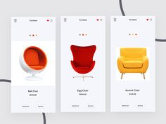 Furniture App Exploration by Mohammad Shohid    Here's a Furniture App Exploration screen for an iOS app  If you like this shot, press L  Let me know your feedback & criticize  By the way, I'm currently available for freelance projects. Hire: toshohid@gmail.com