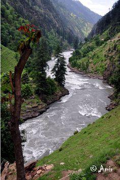 Neelum River - Neelum Valley, Azad Kashmir - Pakistan