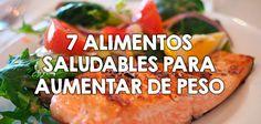 7 alimentos para subir de peso Weight Loss Juice, Ayurveda, Smoothie Recipes, Baked Potato, A Food, Healthy Lifestyle, Health Fitness, Beef, Chicken