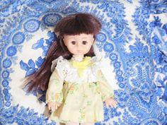 Vogue Ginny Doll Nice Dark Hair / Gift Idea by Daysgonebytreasures