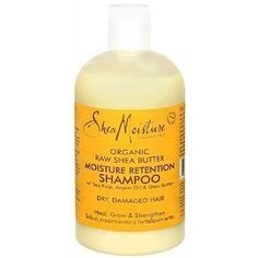 Shea Moisture Organic Raw Shea Butter Moisture Retention Shampoo || Skin Deep® Cosmetics Database | EWG
