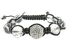 A loved Swarovski Crystal Shamballa Bracelet: http://www.gemologica.com/clear-swarovski-crystal-black-shamballa-bracelet-p-5260.html