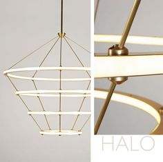 Halo Pendant Light : Roll & Hill
