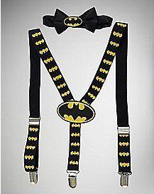 Infant Batman Bowtie Suspender Set