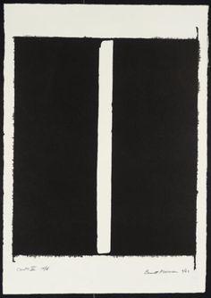 Barnett Newman, 'Canto III' 1963-4