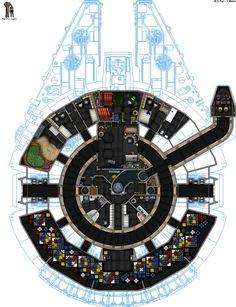 U CEC YT-1300 Millenium Falcon SL by ColonialChrome