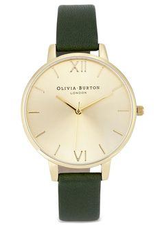 Olivia Burton gold plated watch