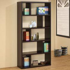 800296 Bookshelf - modern - Bookcases - Modern Furniture Warehouse
