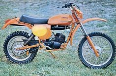 1977 Laverda LH2 125 enduro sporting its Husqvarna engine