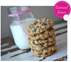 """""""Possibly the best oatmeal raisin cookies I've ever had"""" --per Jason. I don't even like oatmeal raisin cookies and I think these are wonderful!"""