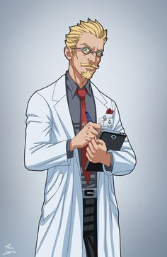 Dr. Byron Meredith (Earth-27) commission by phil-cho.deviantart.com on @DeviantArt