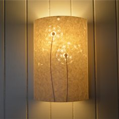 Dandelion Parchment Wall Light - The Wall Lighting Company Ltd
