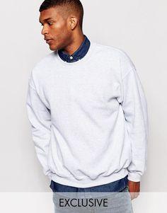Reclaimed Vintage   Reclaimed Vintage Oversized Sweatshirt at ASOS