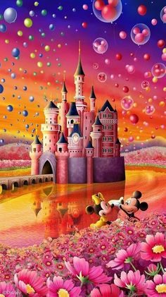 Wallpaper Do Mickey Mouse, Wallpaper Iphone Disney, Wallpaper Backgrounds, Retro Disney, Cute Disney, Images Disney, Disney Pictures, Disney Pics, Disney Mignon