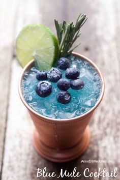 Blue Mule Cocktail Recipe