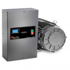 We are a phase converter online store whose converters have been used to convert single phase electricity into three phase power helping business owners to operate the machinery used to run heavy load equipment. Shop Storage, Shop Organization, Garage Shop Plans, Shop Light Fixtures, Shop Buildings, Shop Layout, Shop Lighting, Electrical Equipment, Rotary