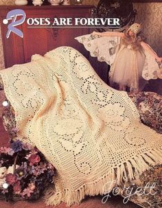Roses-Are-Forever-Afghan-Annies-filet-crochet-pattern-instructions