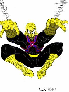 spider-man/agent liberty(dc comics)