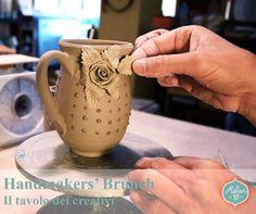 """Terzo appuntamendo con """"Handmakers' Brunch - Il tavolo dei creativi"""". Buon divertimento a tutti quanti!! #Atelier10Team #HandmakersBrunch #IlTavoloDeiCretivi"""