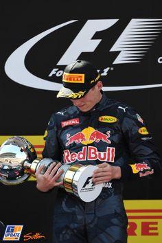 Max Verstappen, Red Bull, Formule 1 Grand Prix van Spanje 2016, Formule 1