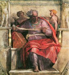 Il profeta Joel dettaglio