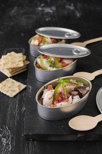 Ceviche - Crossfit All Elements Gland Food Design, Ceviche Ingredients, Fish Recipes, Healthy Recipes, Peruvian Recipes, Creative Food, Food Presentation, Food Plating, Food Dishes